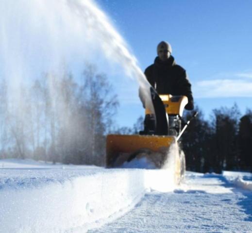 Малая механизация для уборки снега
