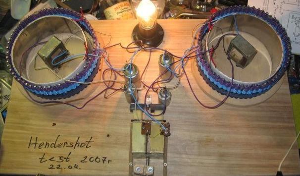 Как сделать генератор для света