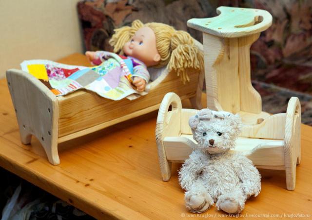 Куклы своими руками из дерева