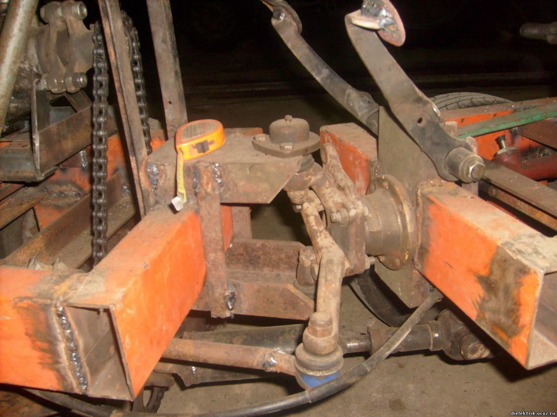 Как самому сделать трактор с ломающейся рамой