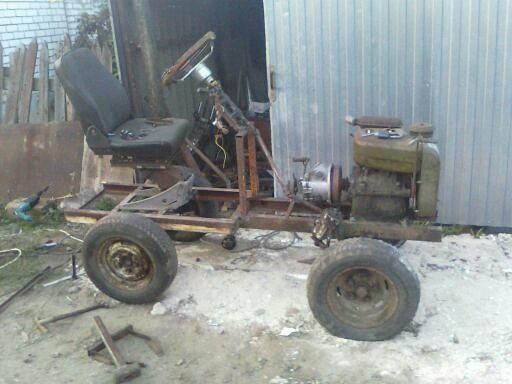 Трактор С Двигателем Уд 2