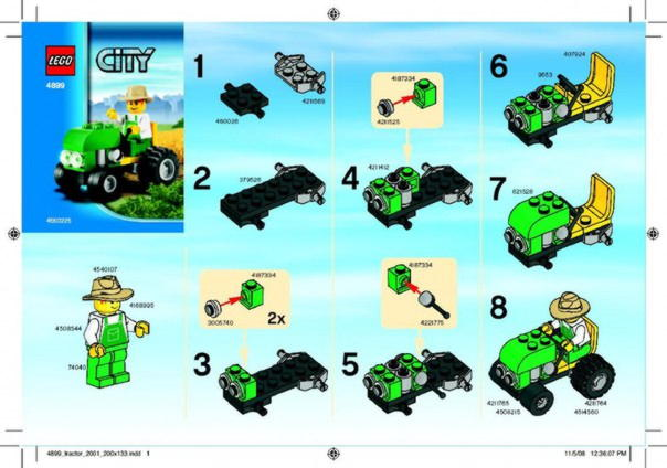 Роботизированная машина типа ПОГРУЗЧИК » робот из lego nxt 2.0 16