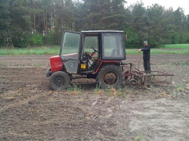 Самодельный трактор своими руками видео фото 269