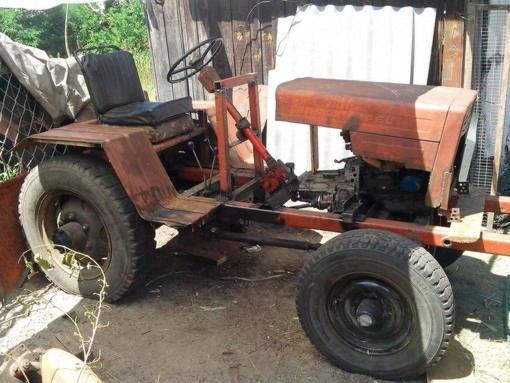 Самодельный трактор своими руками видео фото 254