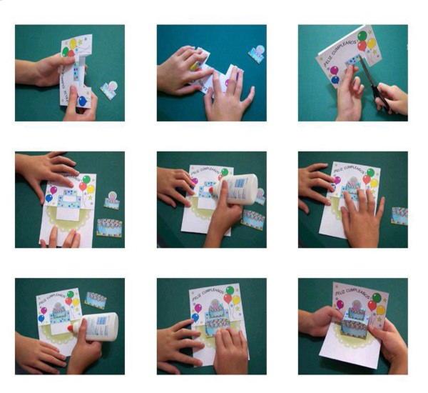 Как сделать объемную открытку на день рождения поэтапно